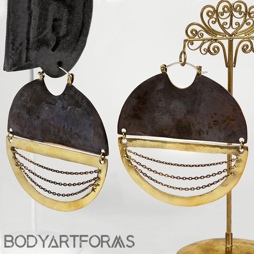 Brass C.R.E.A.M. Design with Chains