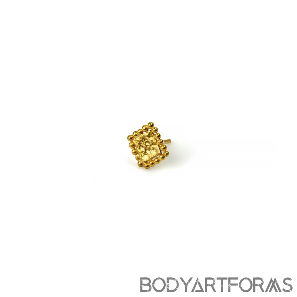 14k Gold Element Threadless End