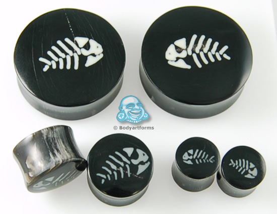 Black Horn Pirate Fish Plugs