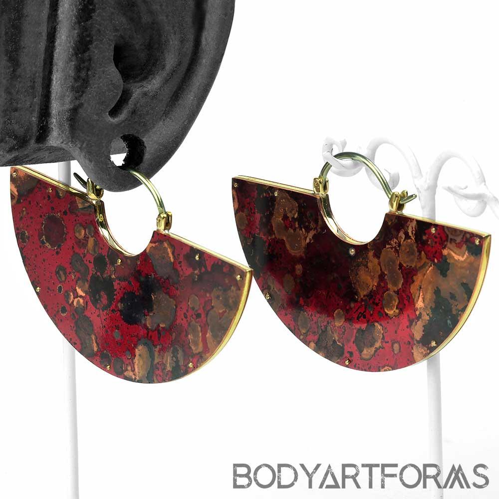 Mini Wine Red Copper Sukha Design