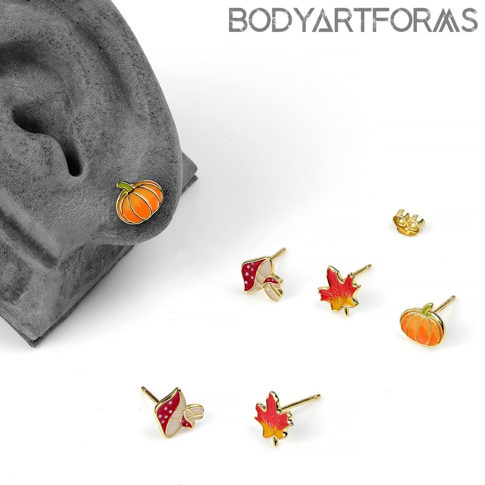 Autumn Collection Stud Earrings