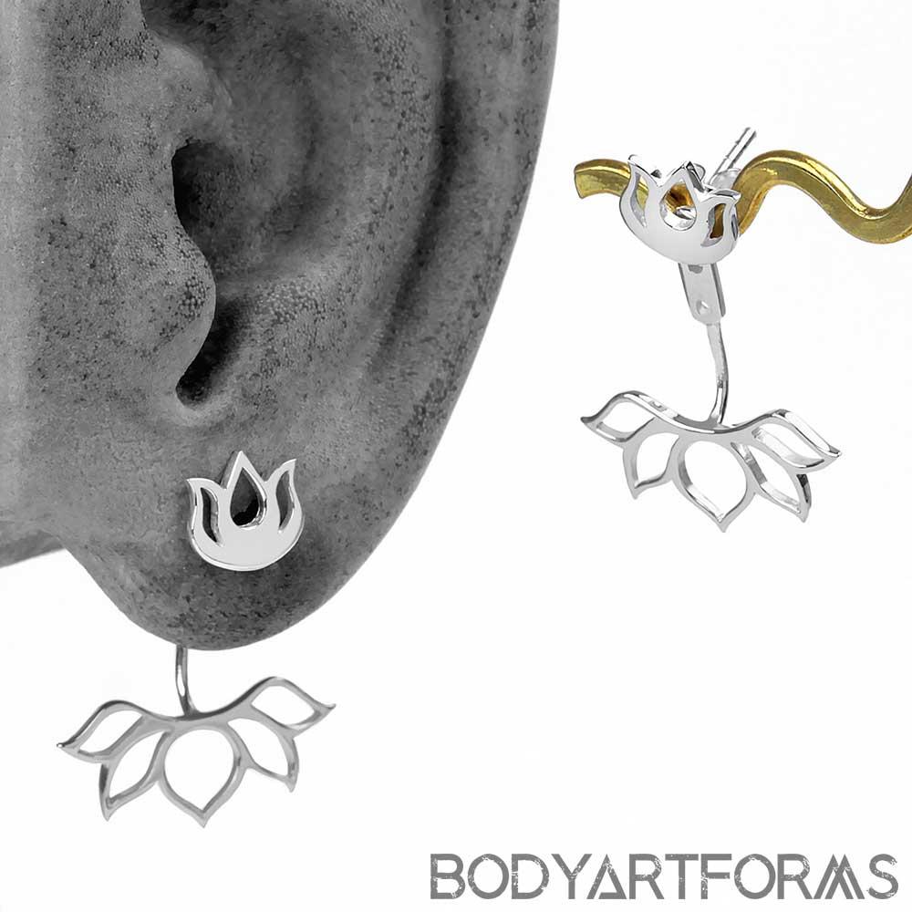 Lotus Earring Jackets