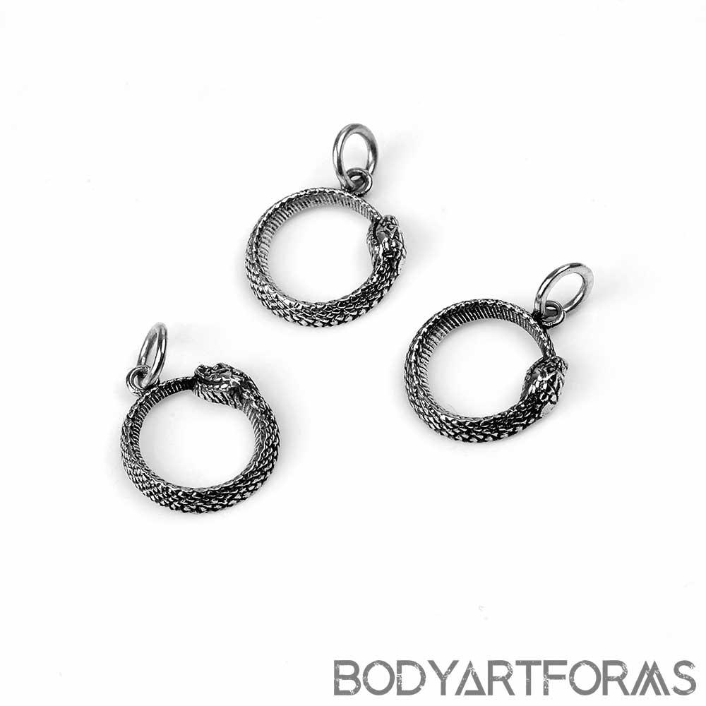 Silver Ouroboros Pendant