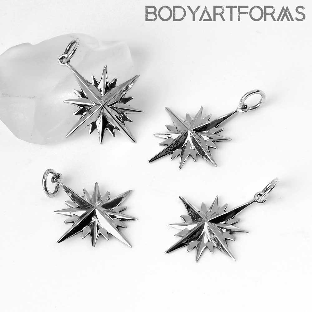 Silver Polaris Pendant