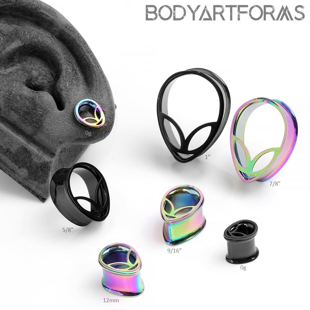Steel Alien Eyelets