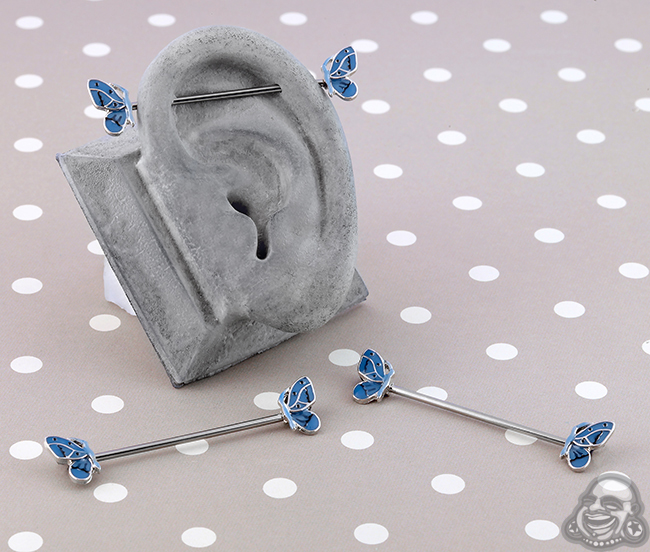 Butterfly Industrial Barbell