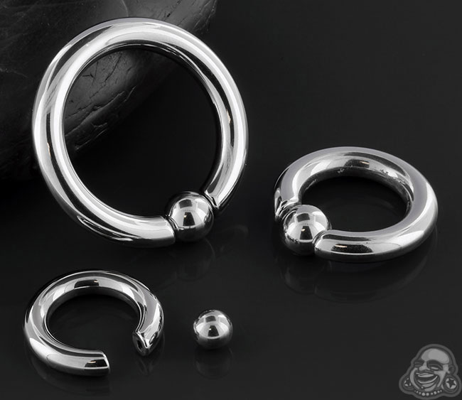 Captive Snap-Fit Ring