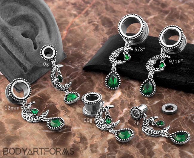 Emerald Moon Steel Eyelets