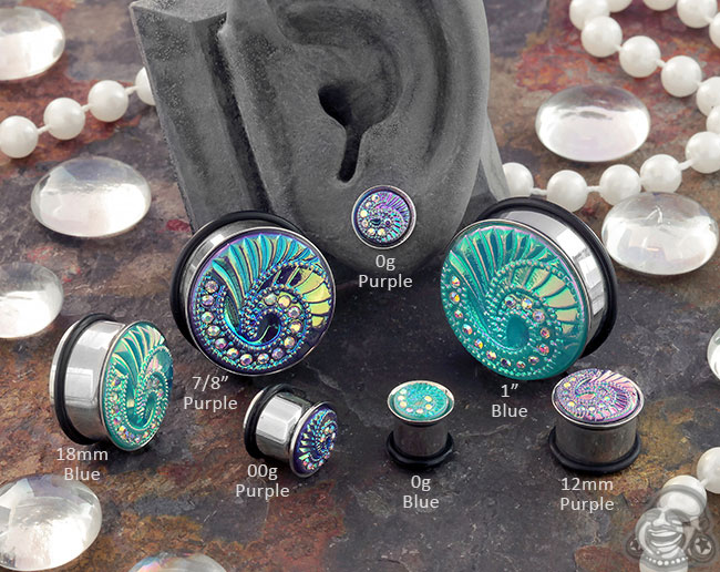 Hypnotic Gem Plugs