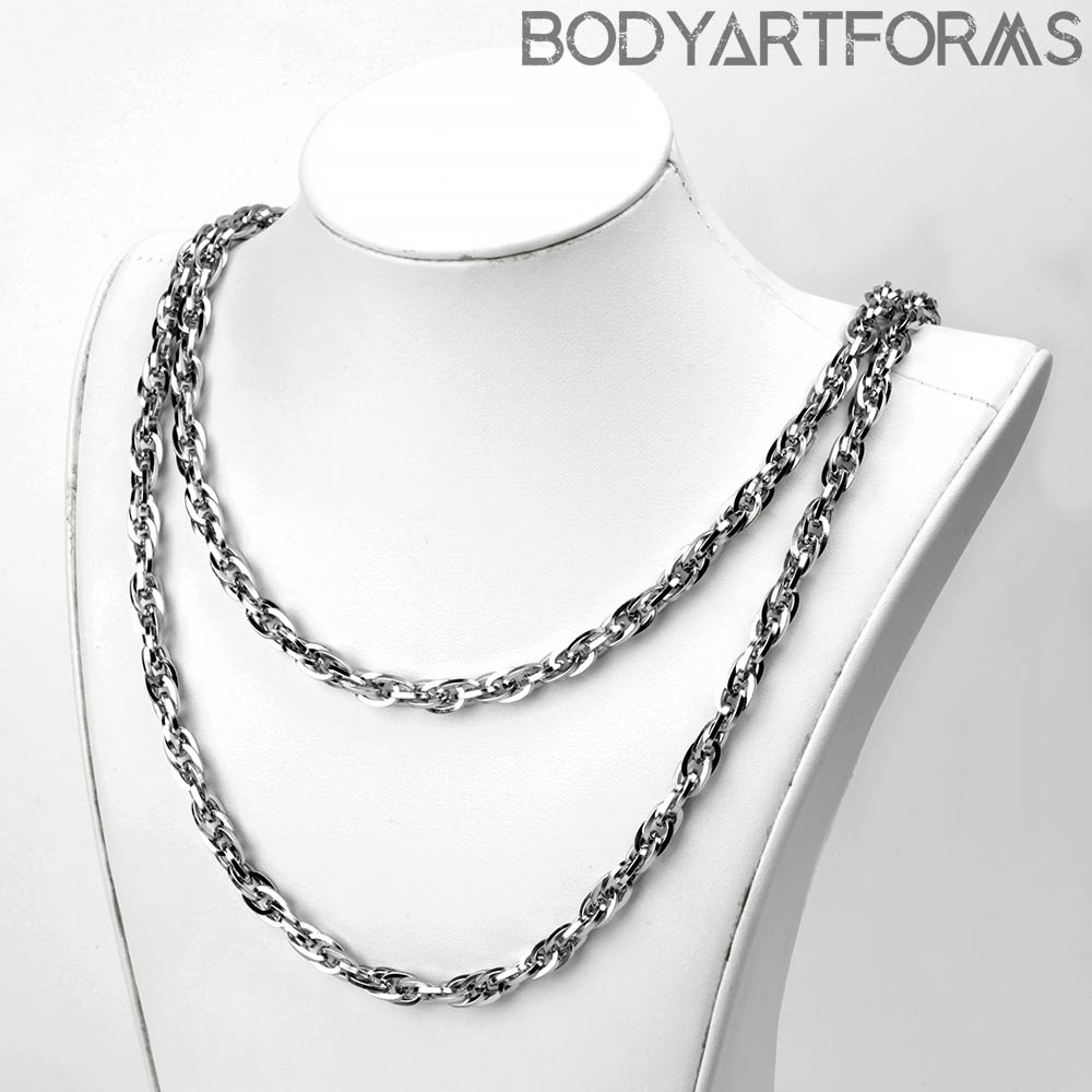 Stainless Steel Large Rope Chain