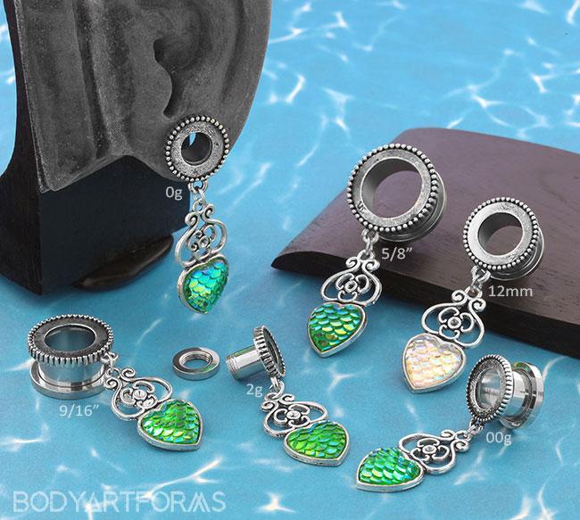 Mermaid Queen Eyelets
