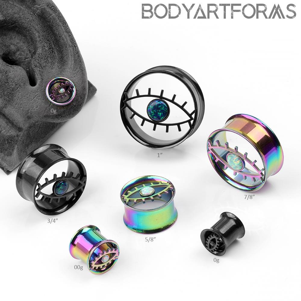 Steel Mystic Eye Plugs