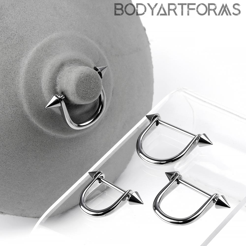 Steel Nipple Stirrup with Spike Ends