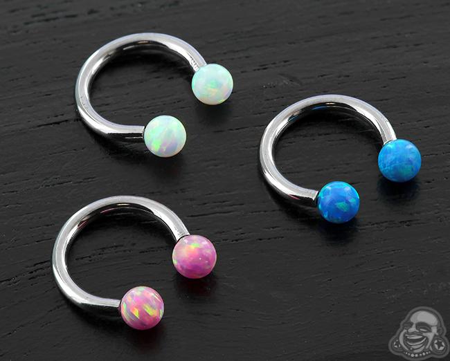 Opal Circular Barbell