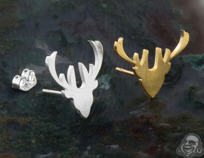 Reindeer Earrings