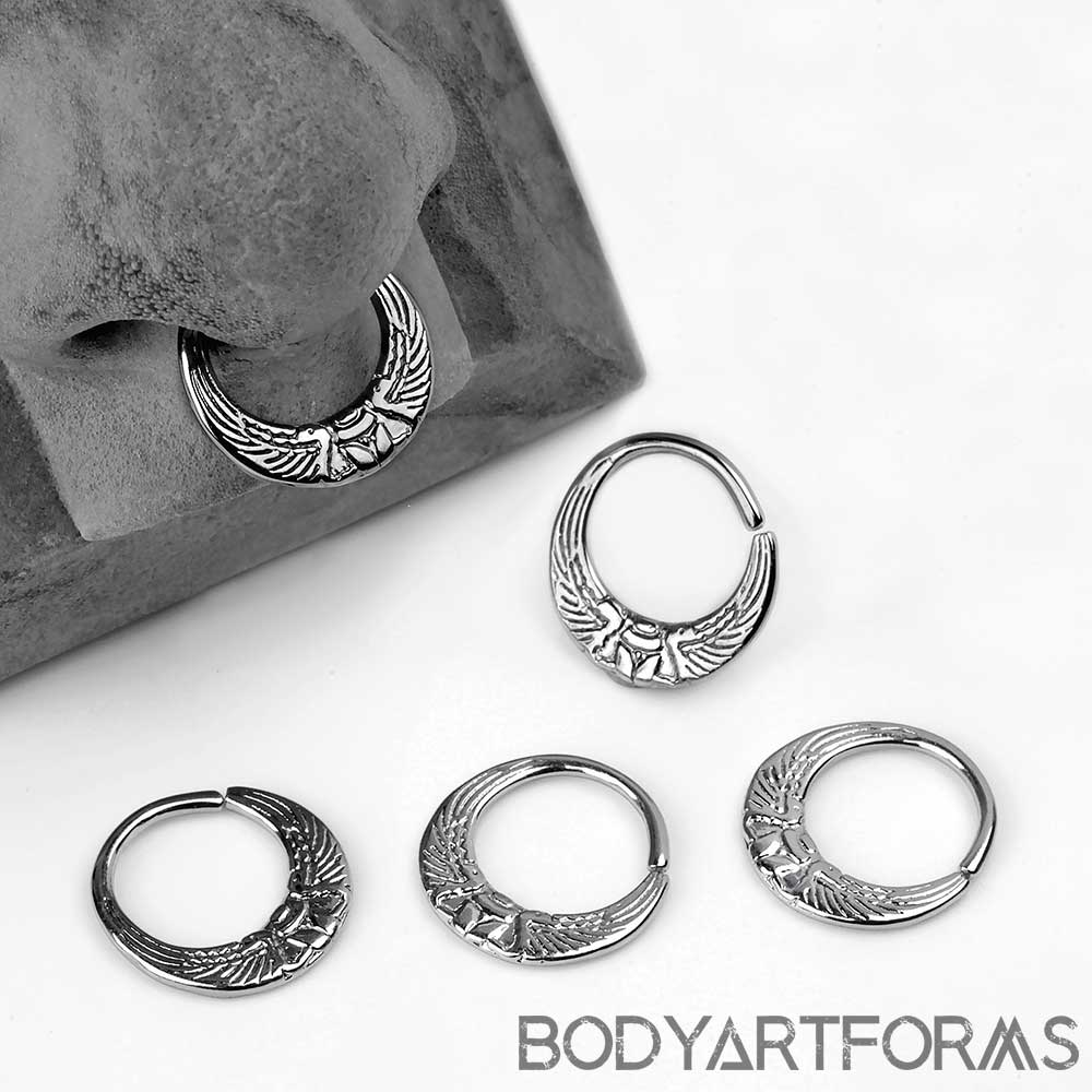 Scarab Seamless Ring