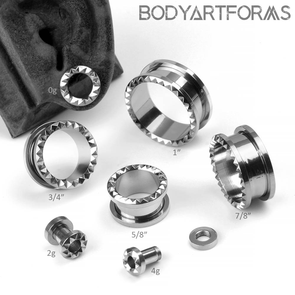 Steel Spiked Eyelets