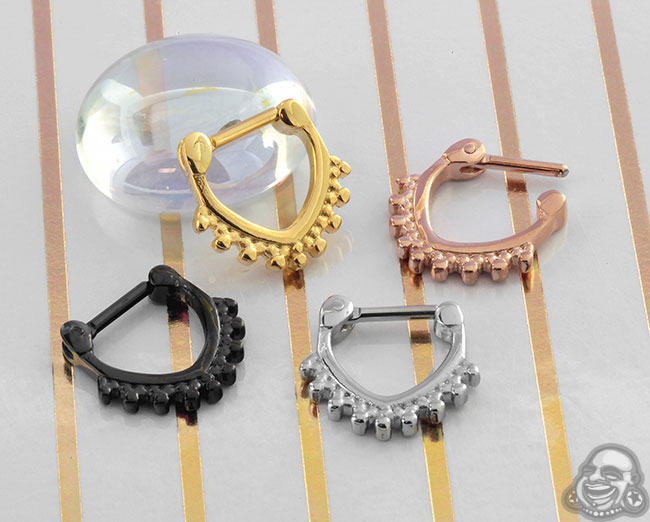 Triangle Trim Septum Clicker