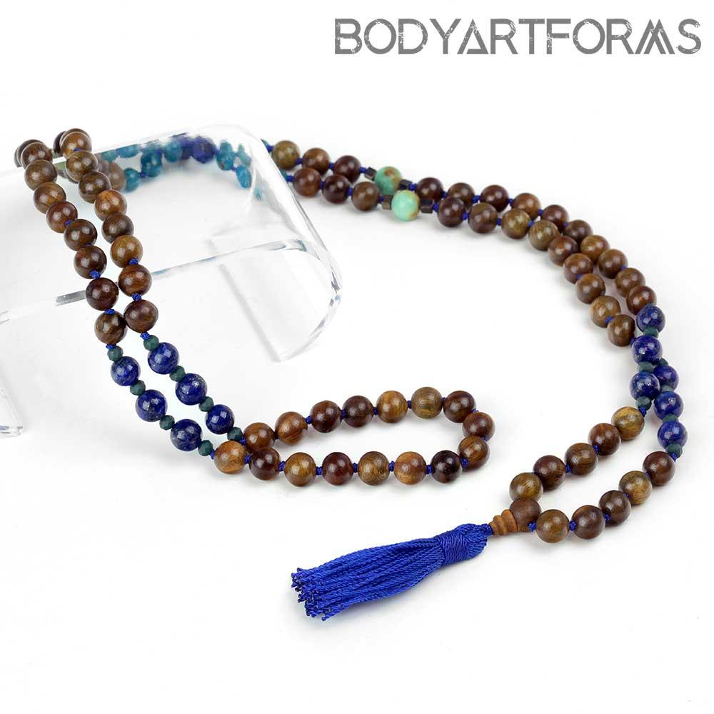 Throat Chakra Mala Necklace