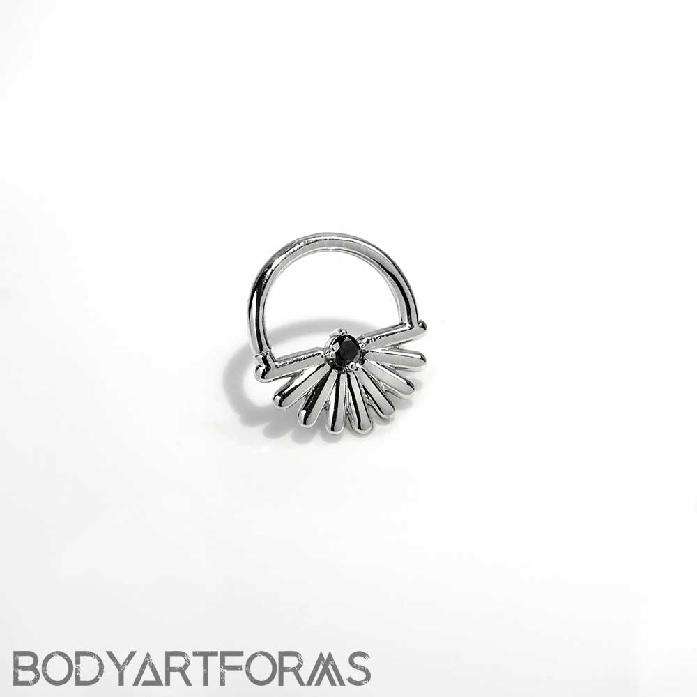14K Gold Luz Seamless Ring