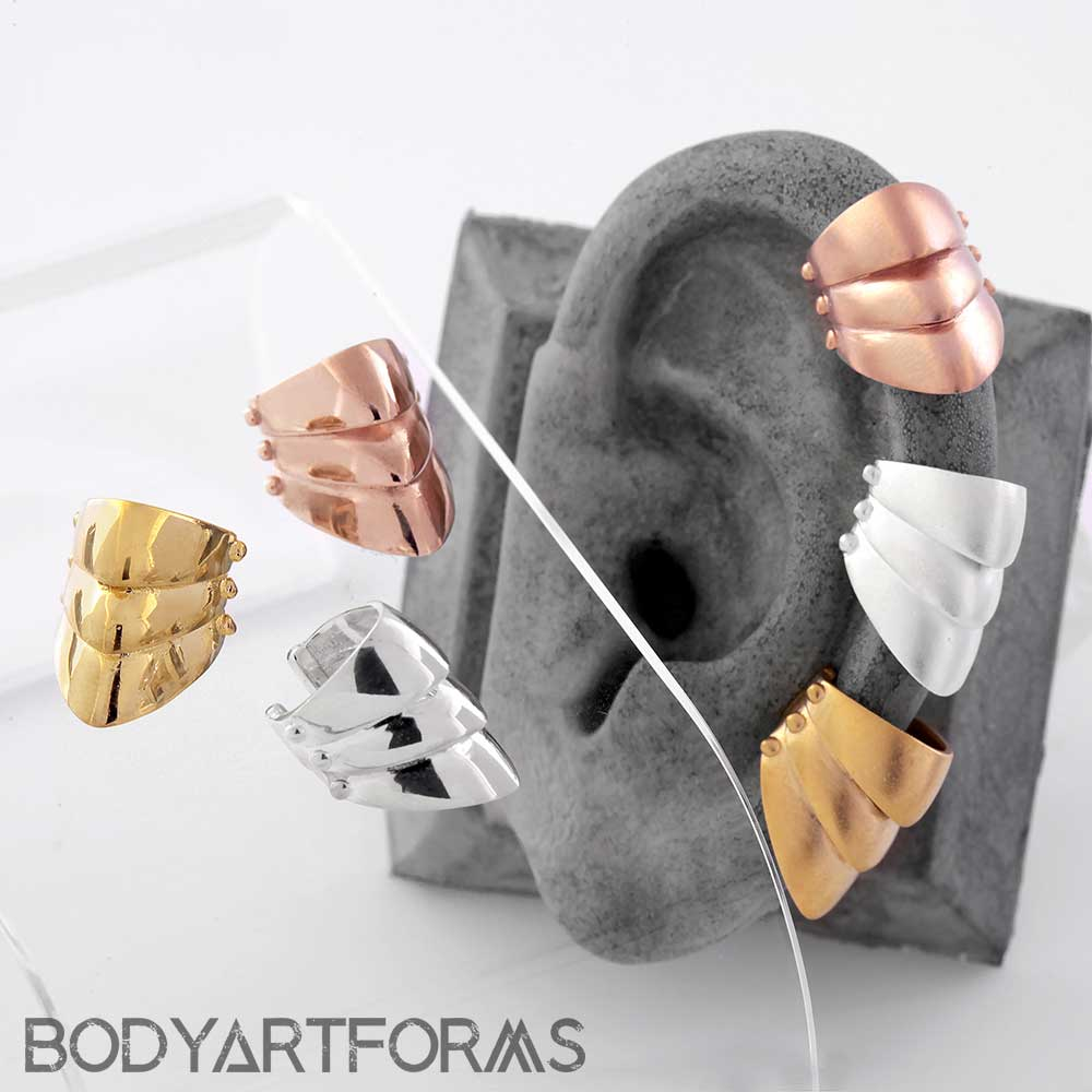 Little Armored Ear Cuff