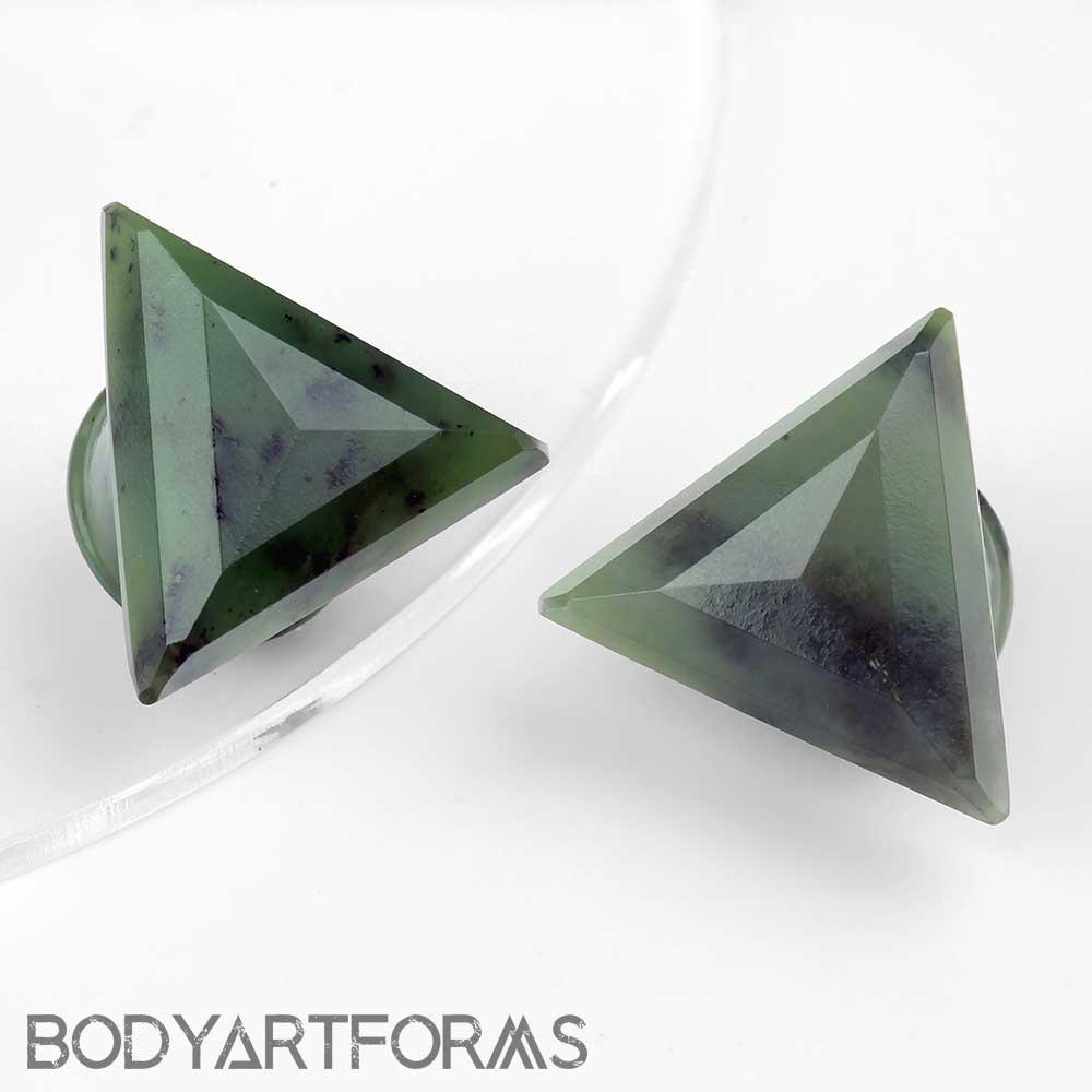 Nephrite Jade Vortex Plugs