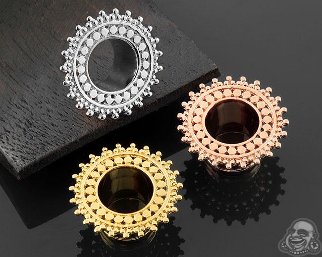 Single Flare Afghan Eyelets