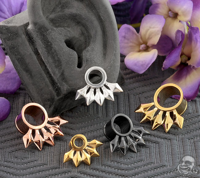 Single Flare Five Point Eyelets