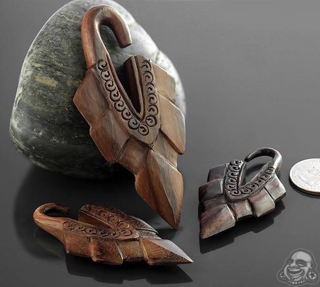 Ebony Wood Warrior Princess Design