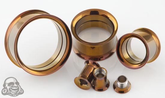 Titanium Plated Internally Threaded Eyelet (Bronze)