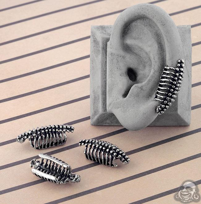 Vertebrae Ear Cuff